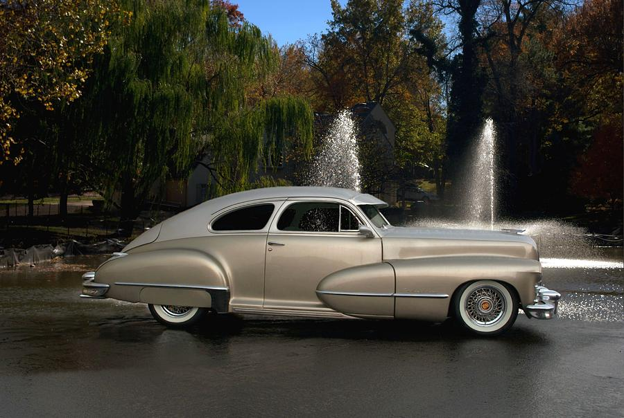 1947 Cadillac Coupe Rodtique Photograph By Tim Mccullough