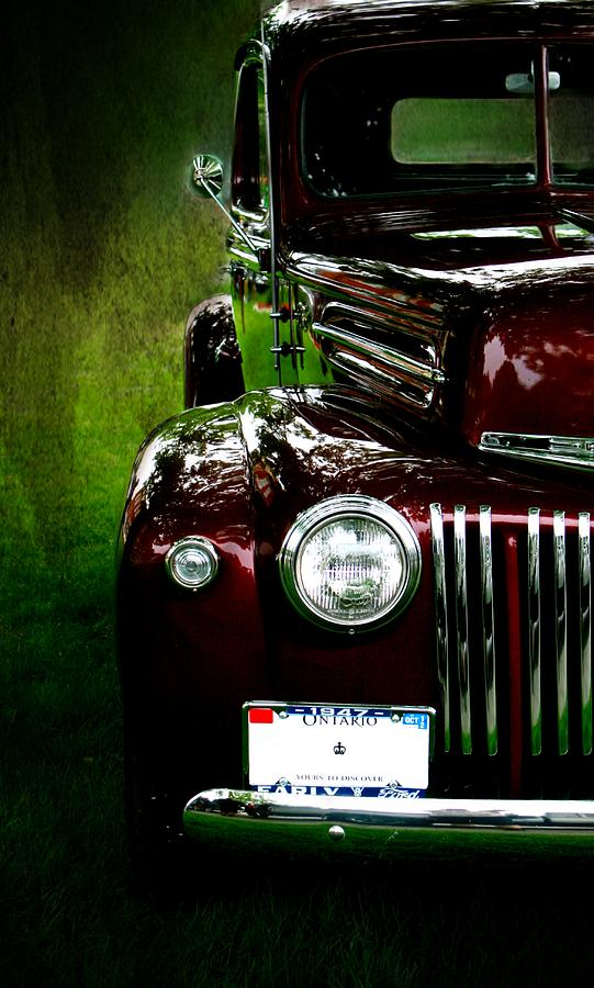 Classic Photograph - 1947 Ford by Amanda Struz