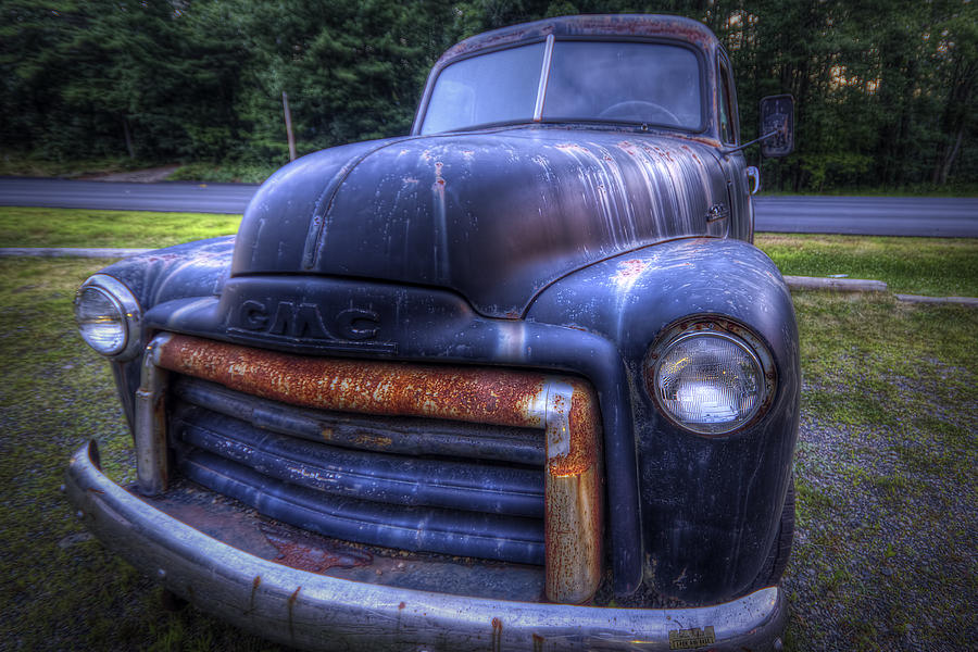 1947 Photograph - 1947 Gmc by Eric Gendron