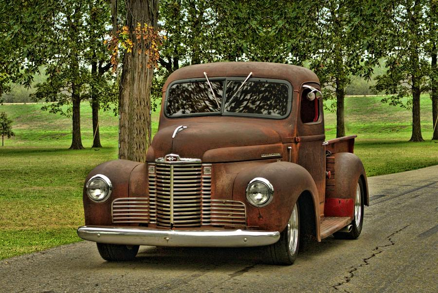 1947 International Pickup Truck Photograph by Tim McCullough