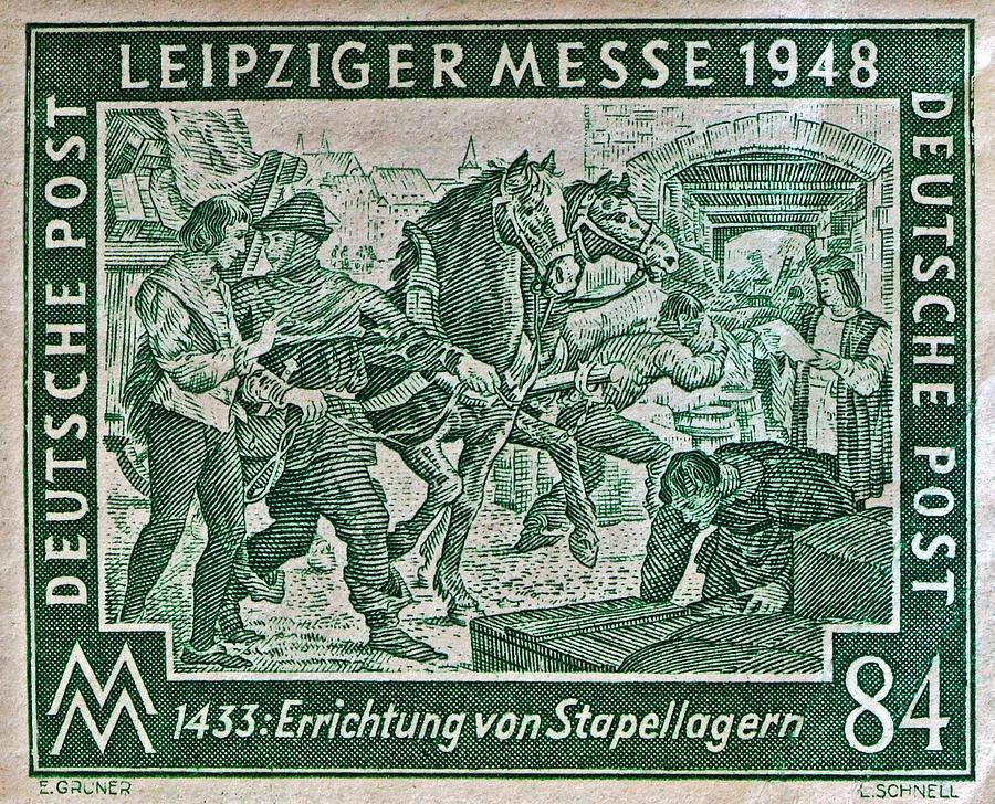 1948 Allied Occupation German Stamp