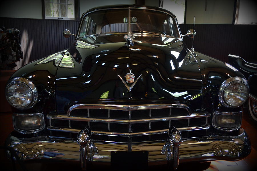 Motor Photograph - 1948 Cadillac Front by Michelle Calkins