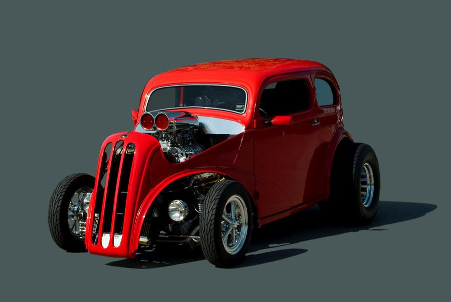 Cars For Sale In Kansas City >> 1948 English Ford Anglia Dragster Photograph by Tim McCullough