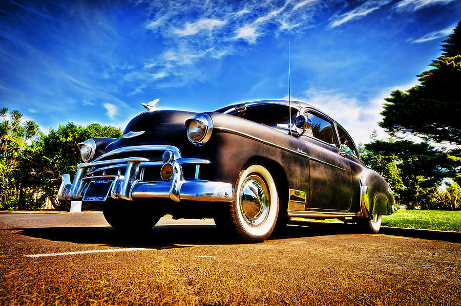 Chevrolet Deluxe Photograph - 1949 Chevrolet Deluxe by motography aka Phil Clark