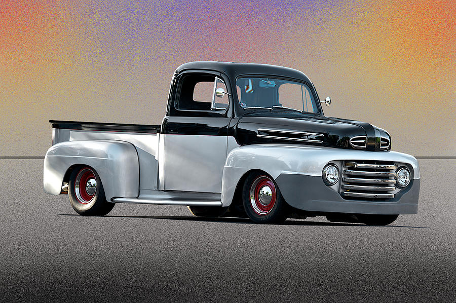 1949 Ford F1 Custom Pick Up Photograph By Dave Koontz