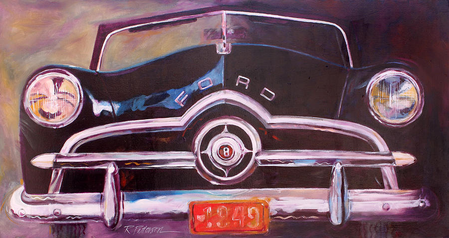 Transportation Painting - 1949 Ford by Ron Patterson