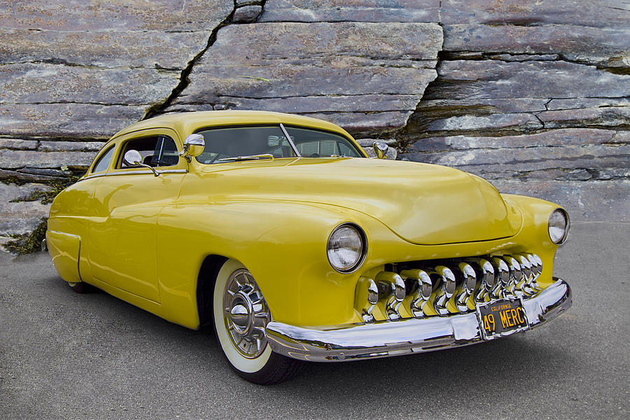 1949 Mercury Coupe Photograph by Debra and Dave Vanderlaan