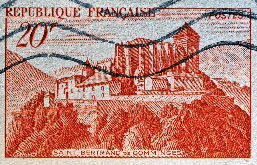 1949 Photograph - 1949 Republique Francaise Stamp by Bill Owen