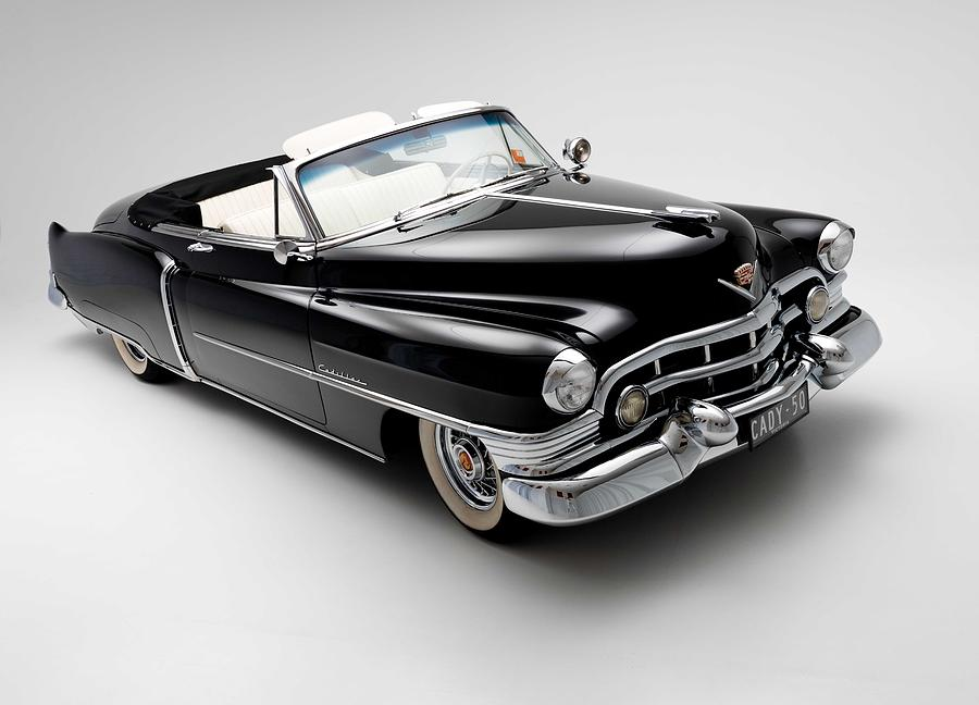 1950 Cadillac Convertible Photograph By Gianfranco Weiss