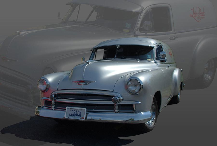 1950 Photograph - 1950 Chevrolet Sedan Delivery by Tim McCullough