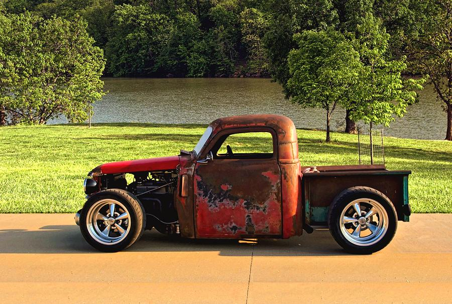 1950 Chevrolet Stubby Pickup Truck Photograph By Tim