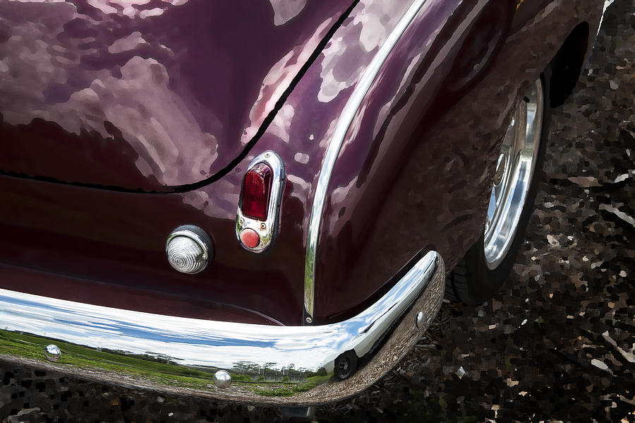 1950 Photograph - 1950 Chevrolet Taillight And Bumper by Rich Franco