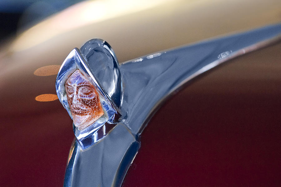 Custom Hood Ornaments >> 1950 Desoto Custom Sedan Hood Ornament Photograph By Jill Reger