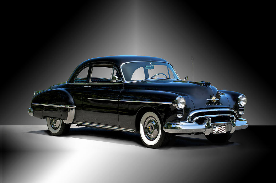 Auto Photograph - 1950 Oldsmobile 88 Deluxe Club Coupe I by Dave Koontz