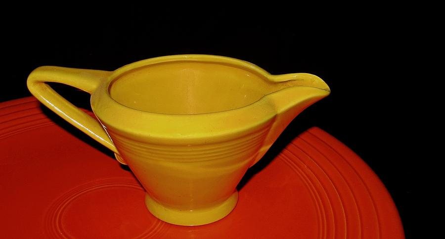 Orange Photograph - 1950s Dinnerware by Joseph Schmidt & 1950\u0027s Dinnerware Photograph by Joseph Schmidt