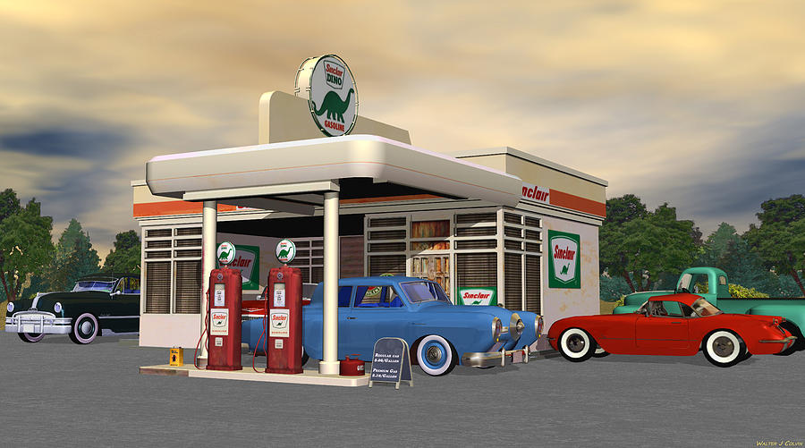 12 1958 62 Chevy Corvette Classic Red Car Wall Graphic Sticker Decal Home Kids Room Man Cave Garage Art Decor New as well 2220 as well 9166483 Scotts 1932 Ford Coupe Hot Rod in addition Historic Downtown Clermont Hosts Second Saturday Classic Car Show also 1950s Route 66 Gas Station Walter Colvin. on old car art calendars