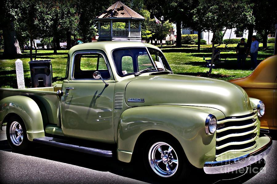 Chevrolet Pick Up Mist Green Photographjw Hanley