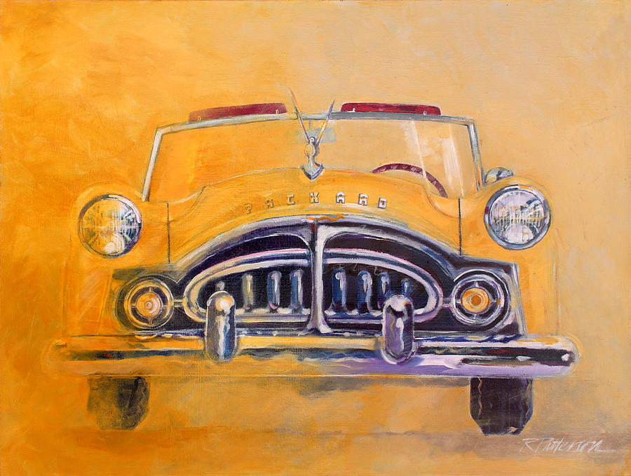 Transportation Painting - 1951 Packard Clipper by Ron Patterson