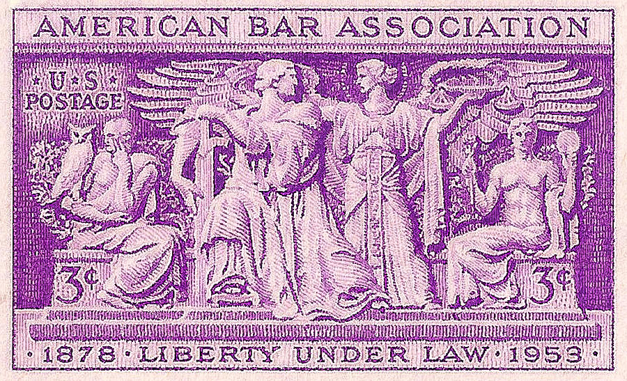 1953 American Bar Association Postage Stamp