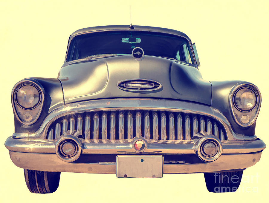 50s Photograph - 1953 Buick Roadmaster by Edward Fielding
