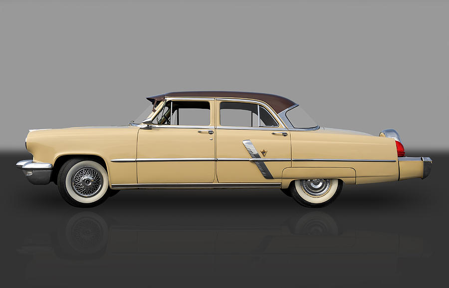 Hot Rods Photograph - 1953 Lincoln by Frank J Benz