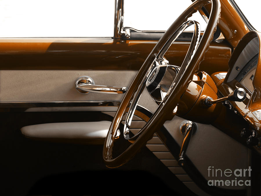 Cars Photograph - 1953 Mercury Bucket  by Steven Digman