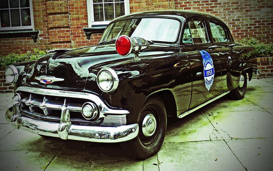 1953 Police Car by Patricia Greer