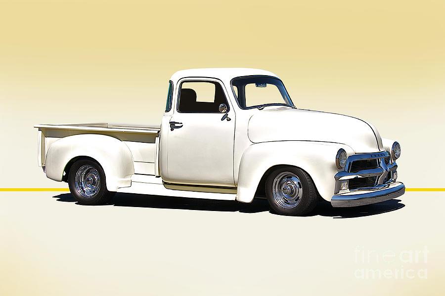 1954 Chevrolet 3100 Pick Up Photograph