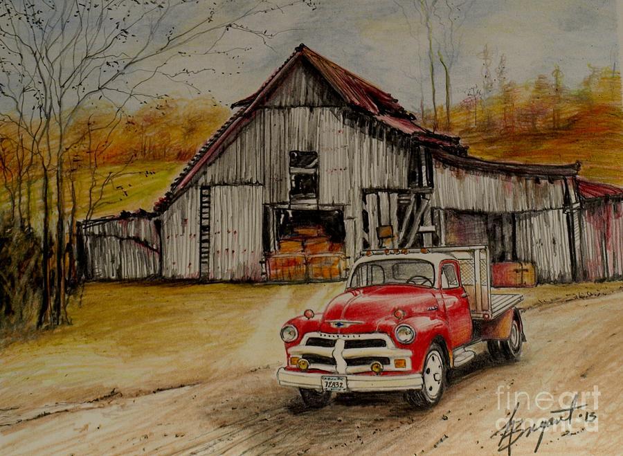 Farm Cars Paintings