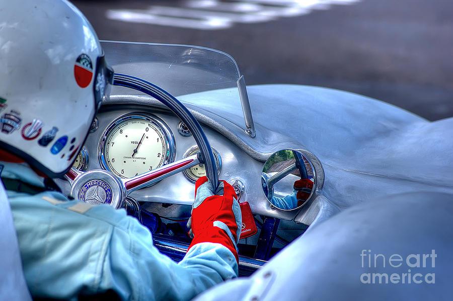 Mercedes-benz Photograph - 1954 Mercedes-benz W196  by J A Evans