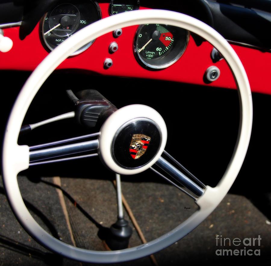 Cars Photograph - 1954 Porsche Speedster by Steven Digman