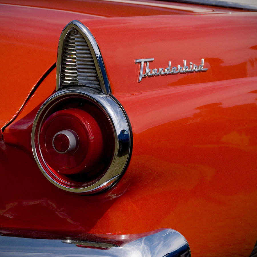 Ford Thunderbird Tail Lights 1964 Light Photograph Beverly Stapleton 900x900