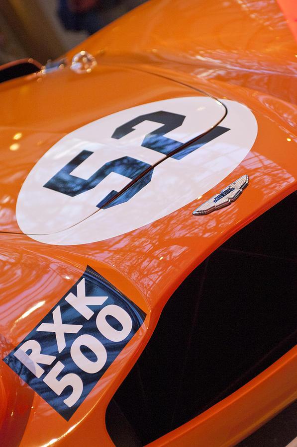 Hood Photograph - 1955 Aston Martin Db3s Sports Racing Car Hood by Jill Reger