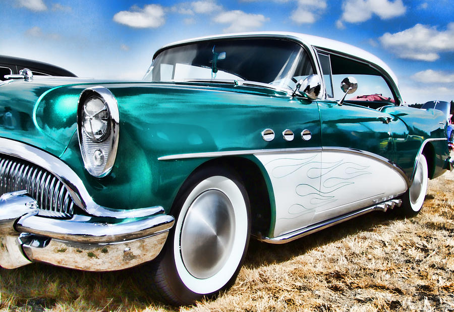 Buick Photograph - 1955 Buick by Ron Roberts