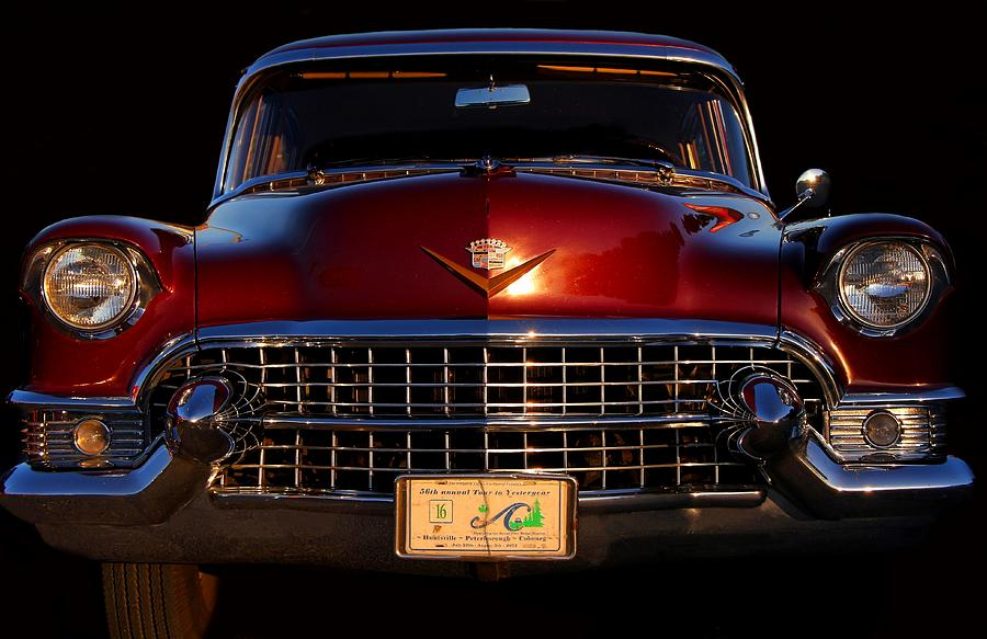 Car Photograph - 1955 Cadillac Series 62 by Davandra Cribbie