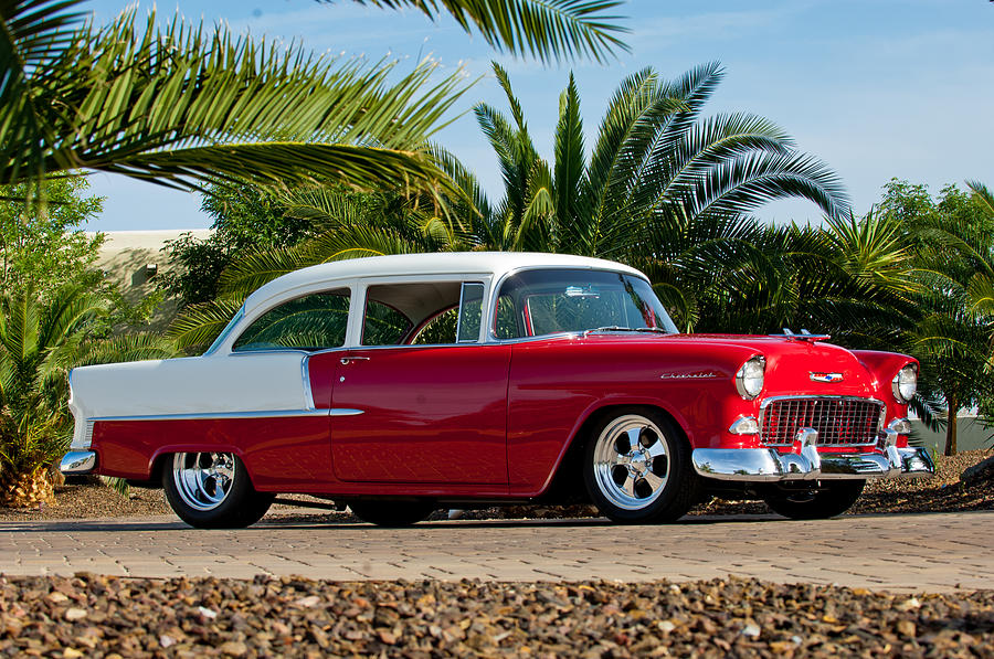 Classic Car Photograph - 1955 Chevrolet 210 by Jill Reger