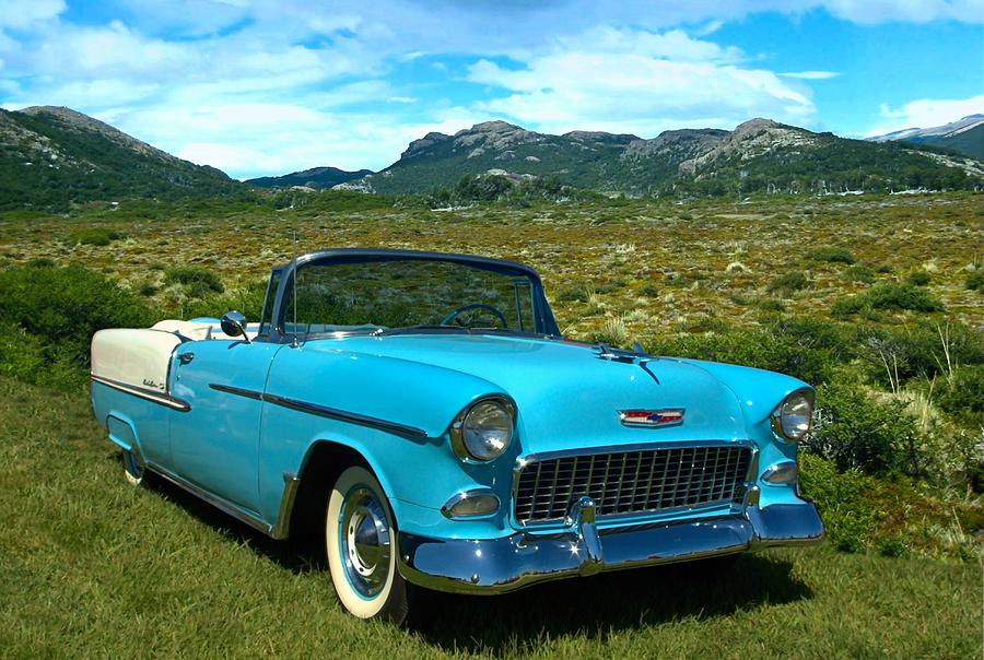 1955 Chevrolet Photograph - 1955 Chevrolet Convertible by Tim McCullough