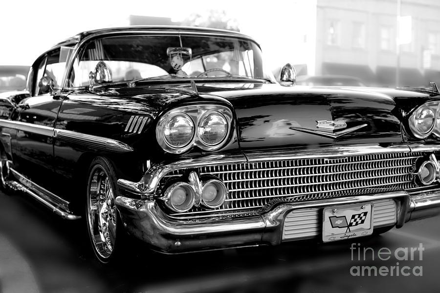 1955 Chevy Impala Photograph By Kerri Lane