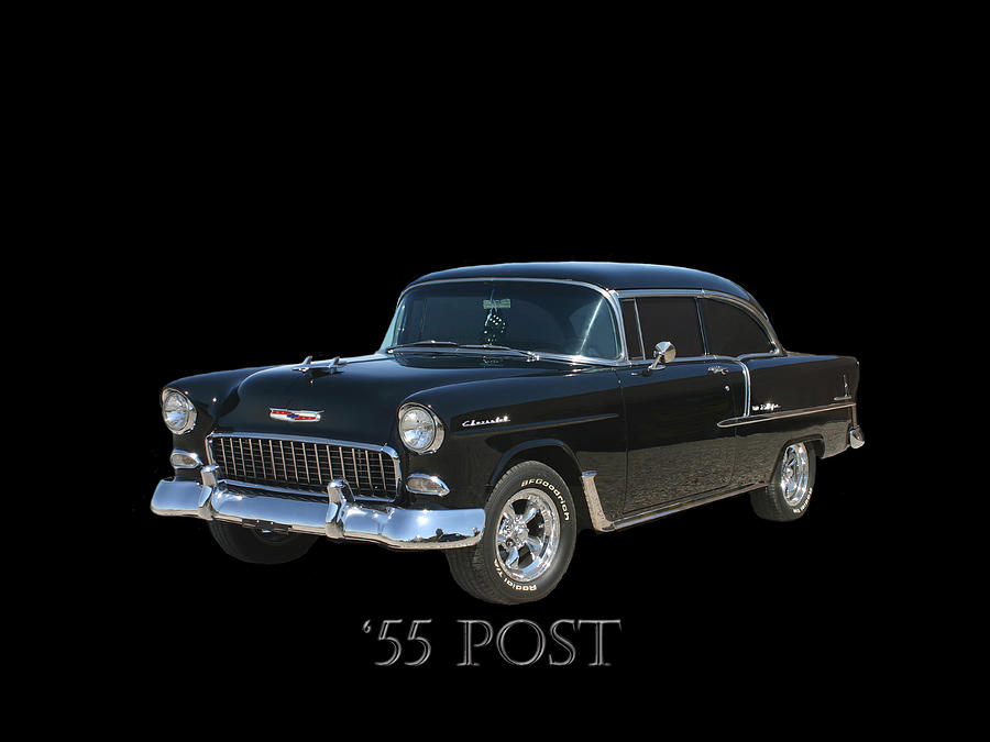 Al. Photograph - 1955 Chevy Post by Jack Pumphrey