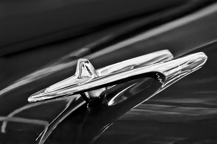 De Soto Photograph - 1955 Desoto Hood Ornament 4 by Jill Reger