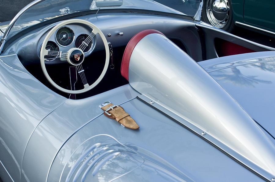 1955 Porsche Spyder Photograph - 1955 Porsche Spyder  by Jill Reger