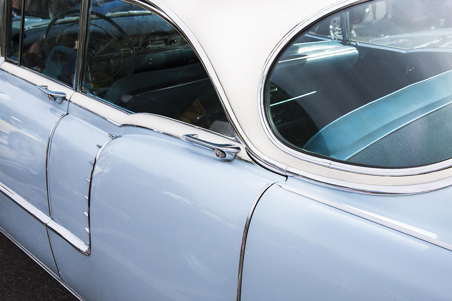 Deville Photograph - 1956 Cadilac Sedan De Ville by Rich Franco
