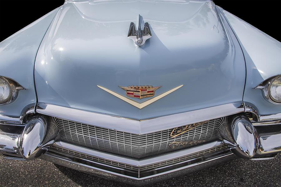Deville Photograph - 1956 Cadilac Sedan De Ville Smiling by Rich Franco