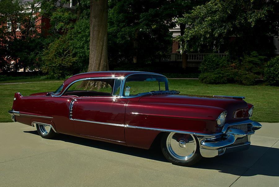 1956 Cadillac Coupe Deville Photograph By Tim Mccullough