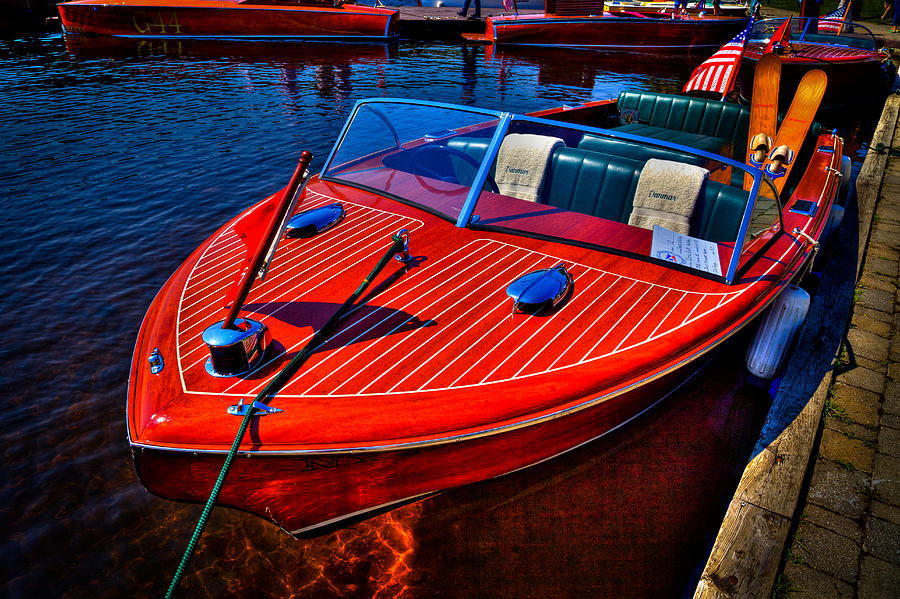 1956 Chris-craft Photograph - 1956 Chris-craft Capri Classic Runabout by David Patterson
