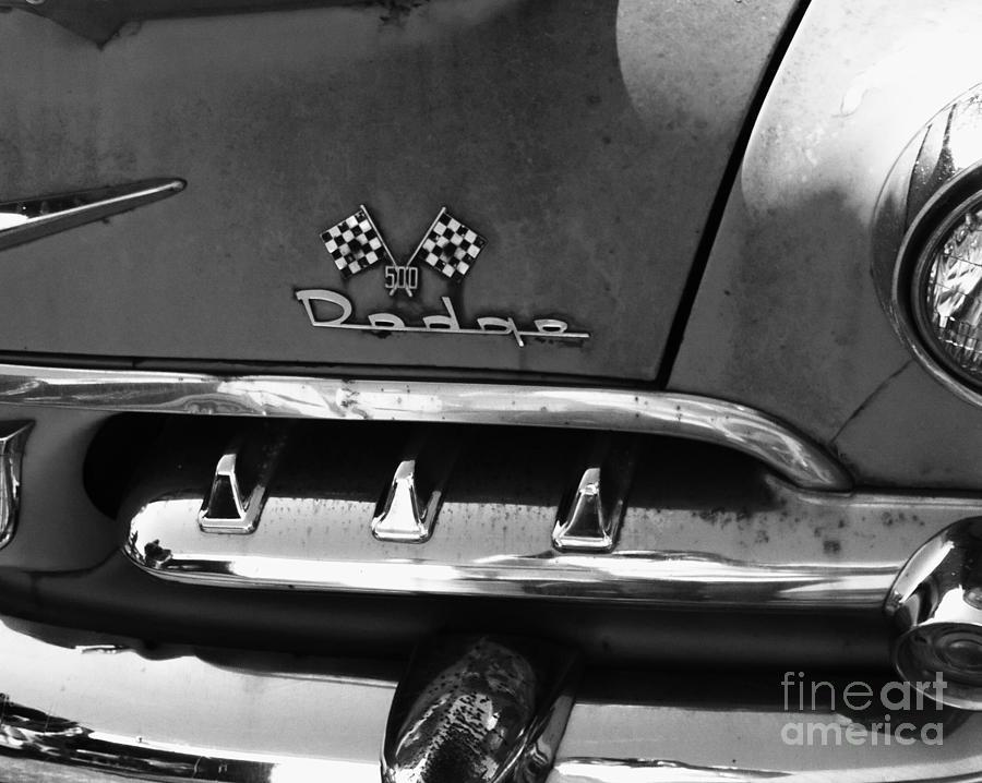 1956 Photograph - 1956 Dodge 500 Series Photo 2 by Anna Villarreal Garbis