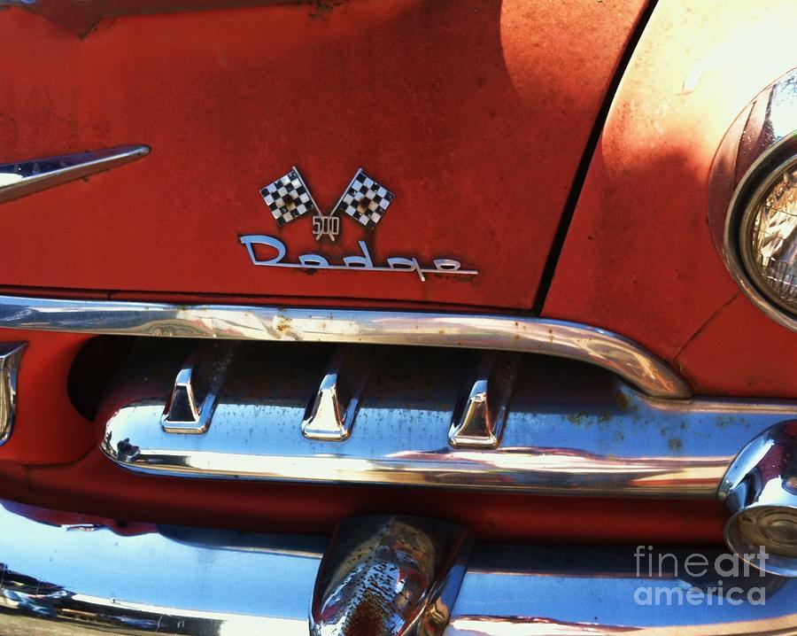 1956 Photograph - 1956 Dodge 500 Series Photo 2b by Anna Villarreal Garbis