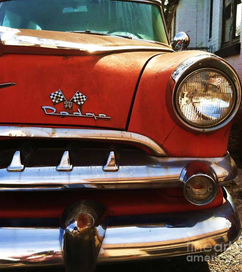 1956 Photograph - 1956 Dodge 500 Series Photo 5b by Anna Villarreal Garbis