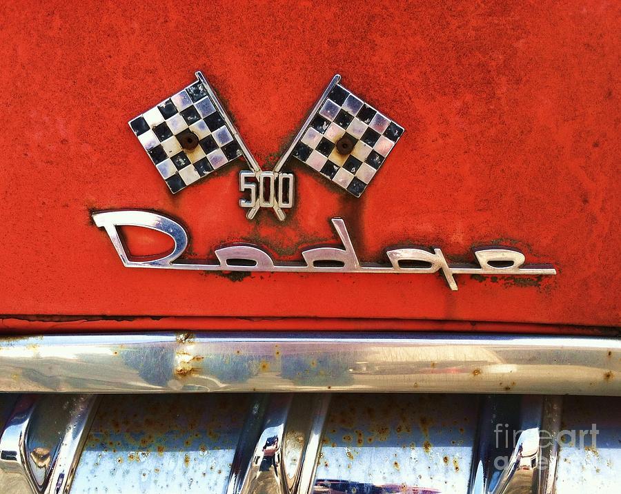 1956 Photograph - 1956 Dodge 500 Series Photo 8b by Anna Villarreal Garbis