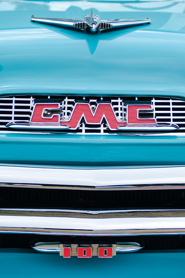 1956 Gmc Photograph - 1956 Gmc 100 Deluxe Edition Pickup Truck by Jill Reger